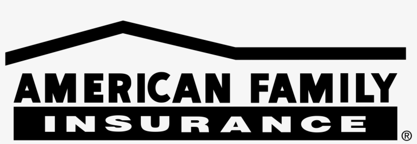 American Family Insurance Logo Png Transparent - American Family Insurance Logo Black, transparent png #1895142