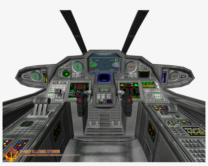 Clipart Resolution 1024*768 - Star Wars X Wing Cockpit, transparent png #1895168