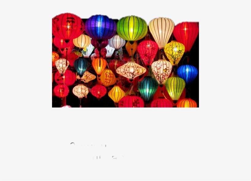 Asian Light Up Vietnam Lanterns Mini, transparent png #1895650