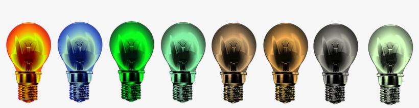 Light Bulbs,lights,bright, - Incandescent Light Bulb, transparent png #1896681