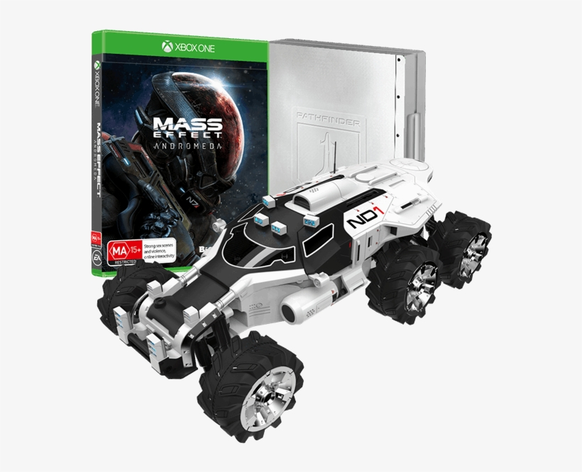 Andromeda Nomad Diecast Collector's Edition - Collector's Edition Eb Games, transparent png #1898097