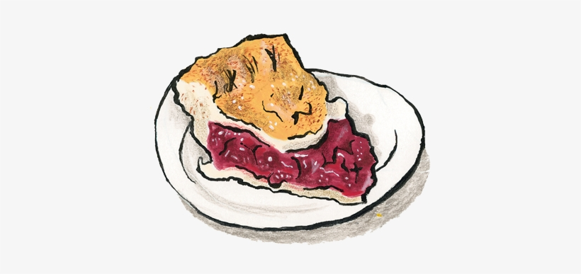 Cheery Cherry Pie - Cherry Pie, transparent png #1898428