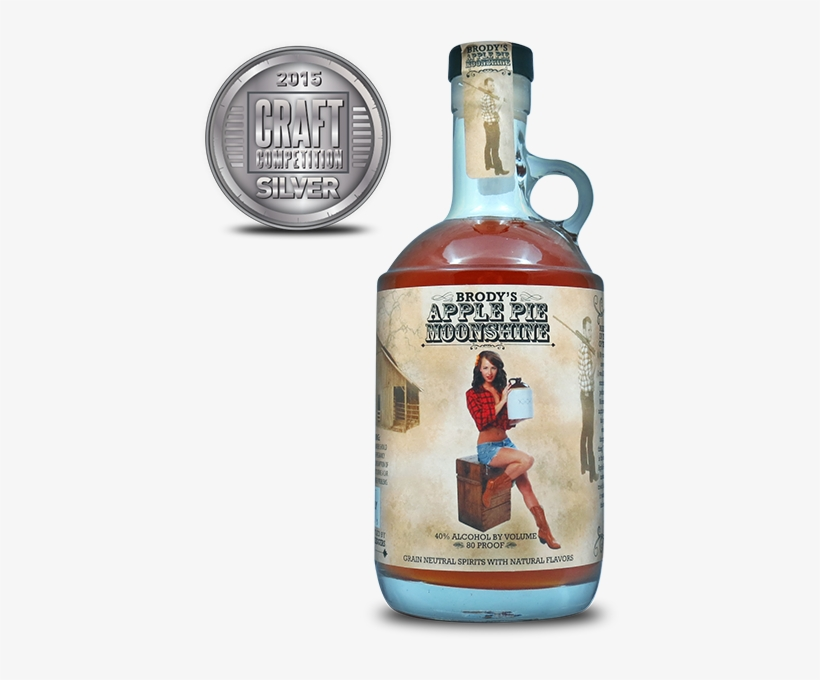 Brody's Apple Pie Moonshine - Apple Pie Moonshine Ad, transparent png #1898809