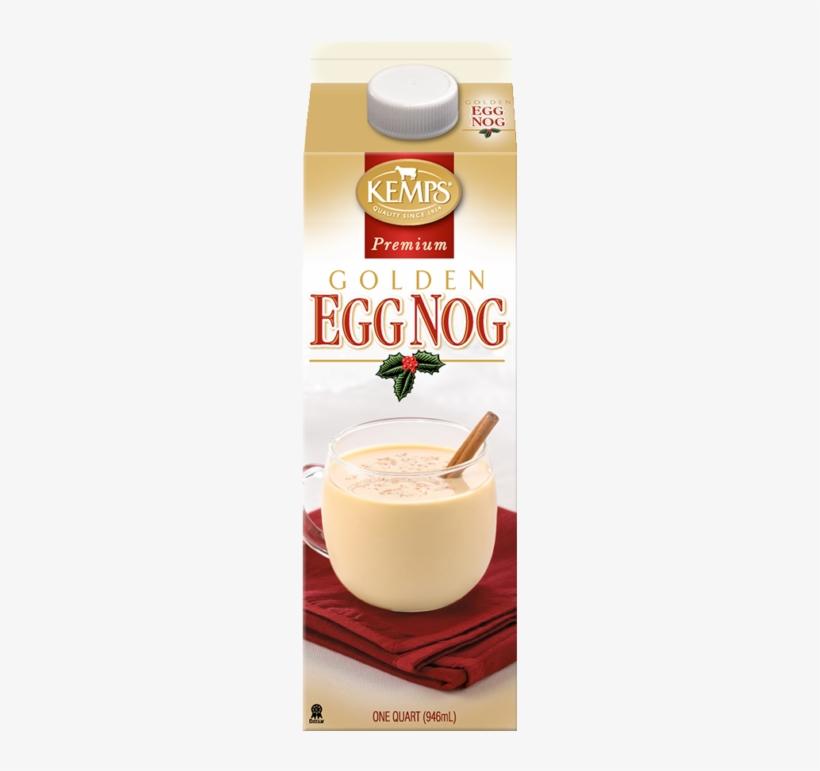 Premium Golden Egg Nog - Kemps Premium Golden Egg Nog 1 Qt. Carton, transparent png #1899690