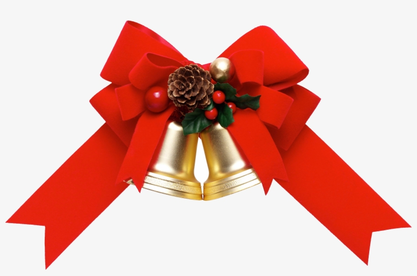 Christmas Ribbon Png Pic - Christmas Gift Ribbon Png, transparent png #190581