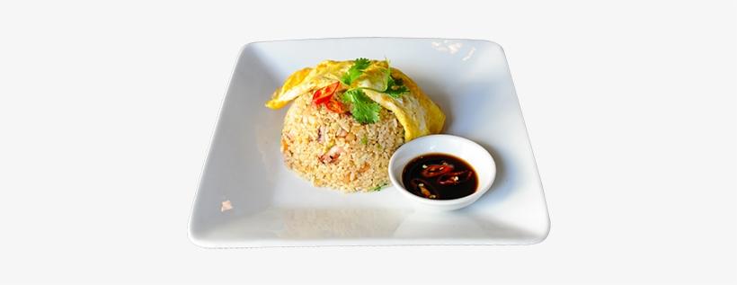 Alfdn Seafood Fried Rice - Fried Rice, transparent png #191164