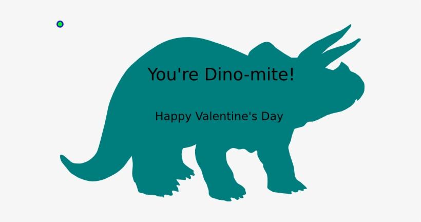 Valentine dinosaur. Clipart svg free transparent