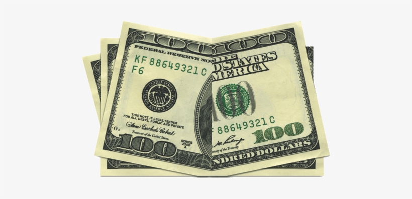 Bill Vector One Hundred Dollar - 100 Dollar Bill, transparent png #192726