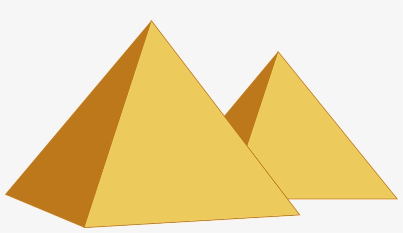 Pyramid Png Images Free - Egypt Pyramid Graphic - Free