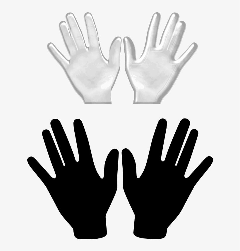Free Hands Vector, Free Vector Hand, Illustration Vector - Two Hands Clip Art, transparent png #193326