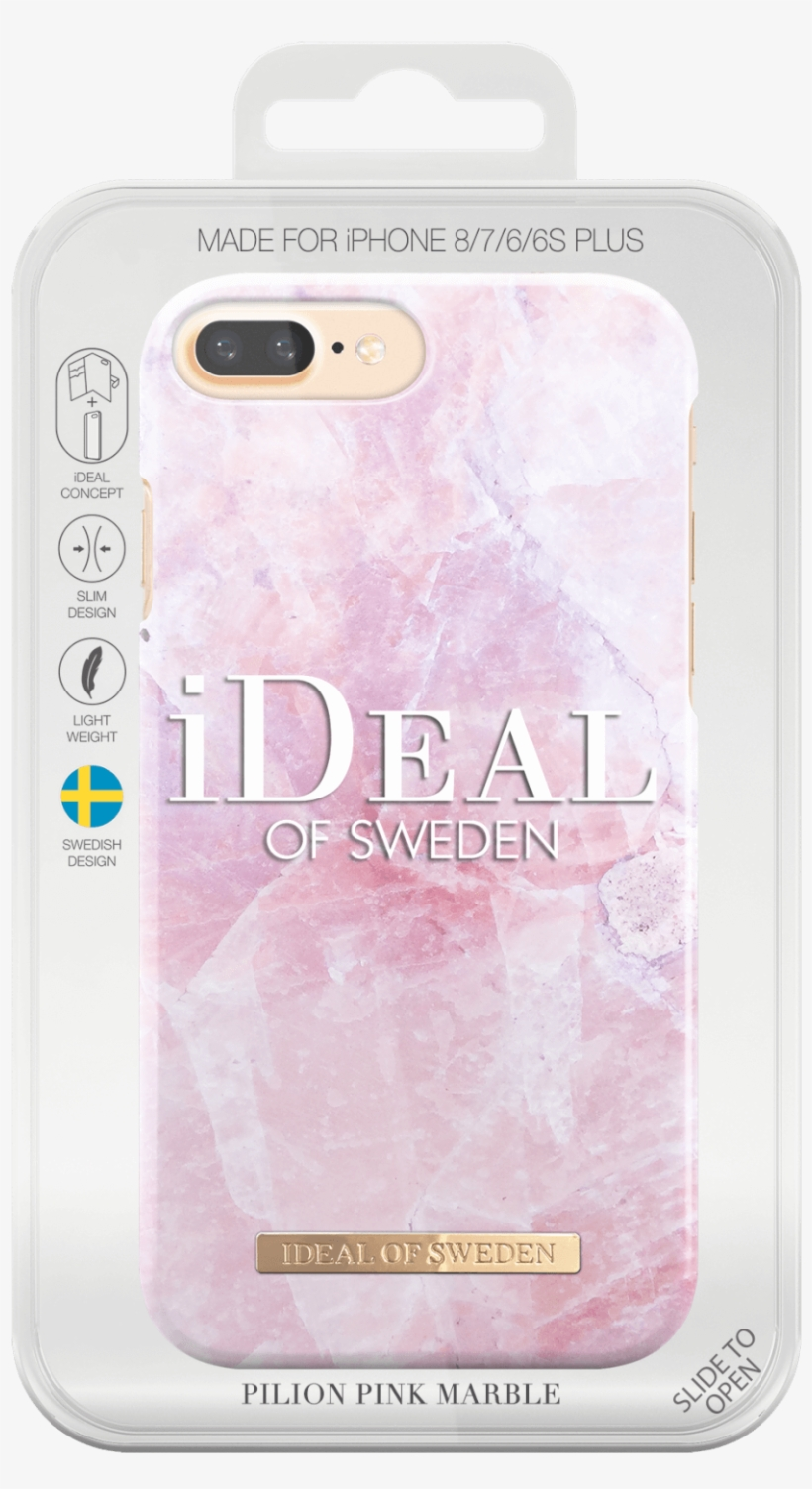 Pink Marble Background Png - Ideal Of Sweden Iphone 6/6s/7/8 Case - White Marble, transparent png #193896