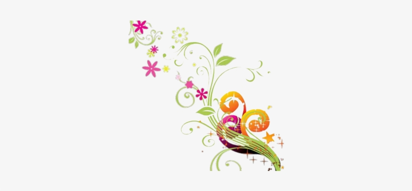 Flowers Vectors Small Png Vector Flower Background Png