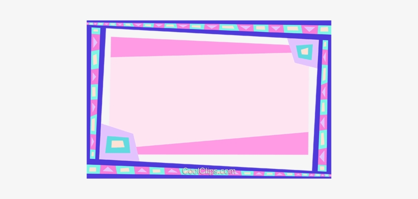 Abstract Royalty Free Vector Clip Art Illustration - Abstract Borders And Frames, transparent png #194180