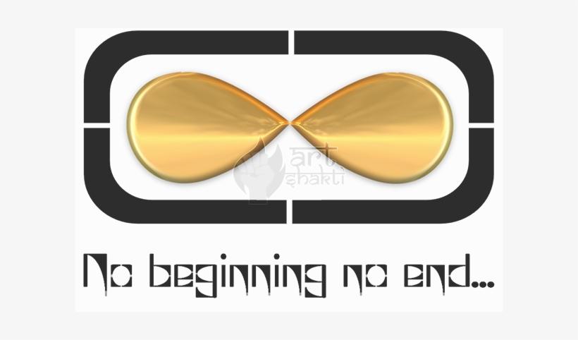 No Beginning No End Infinity Symbol - Illustration, transparent png #194758