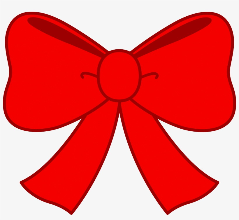 Bow Png High-quality Image - Red Bow Clipart, transparent png #194941