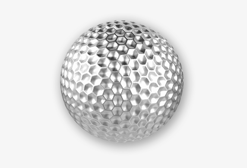 Silver Golf Ball Free Transparent Png Download Pngkey