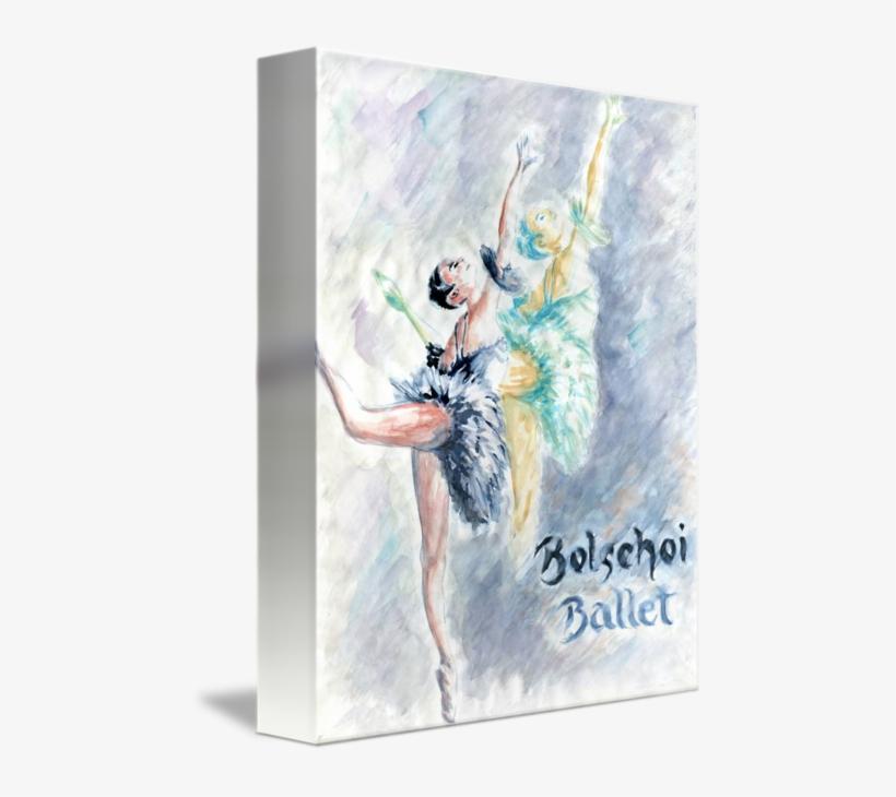 Transparent Dancer Watercolor - Peter Potter - Ballet Dancers Canvas, transparent png #196885