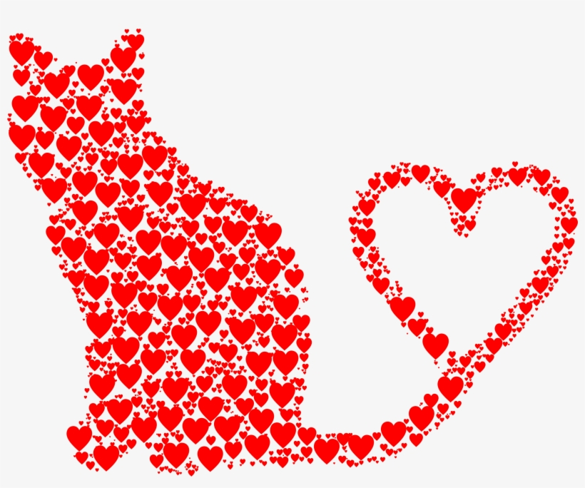 Emoji Cat Heart Eyes Png - Cat Heart Png, transparent png #197545