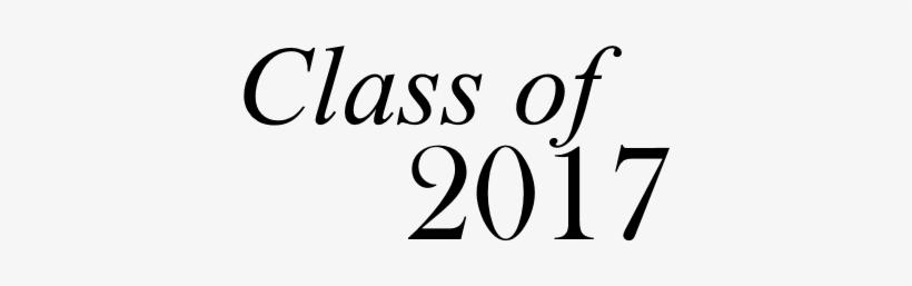 2017 Transparent Senior - Class Of 2017 Png, transparent png #197966