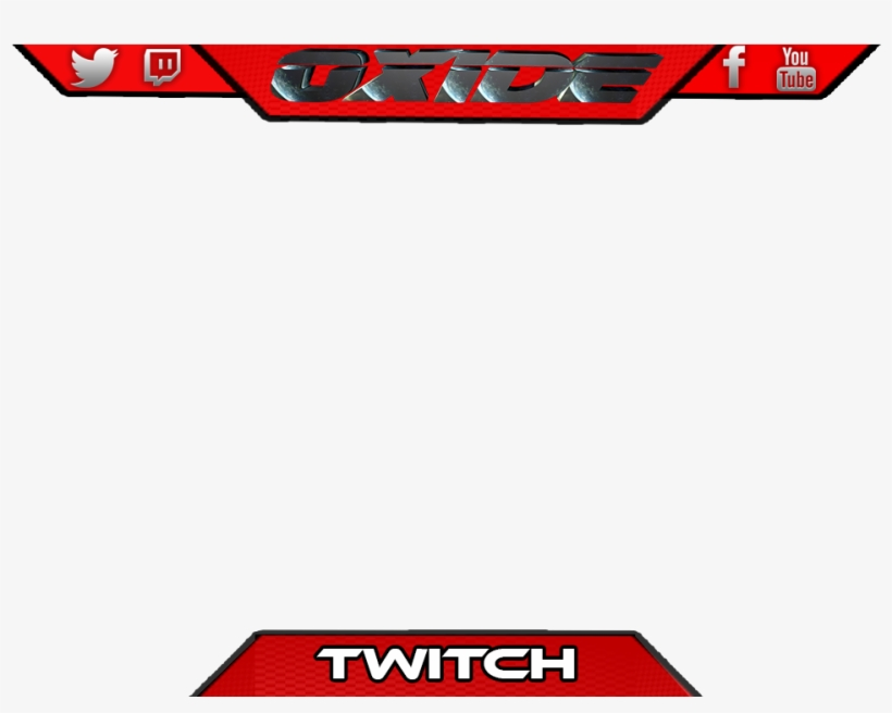 Picture - Overlay Template Twitch Overlay Blank Png, transparent png #198193