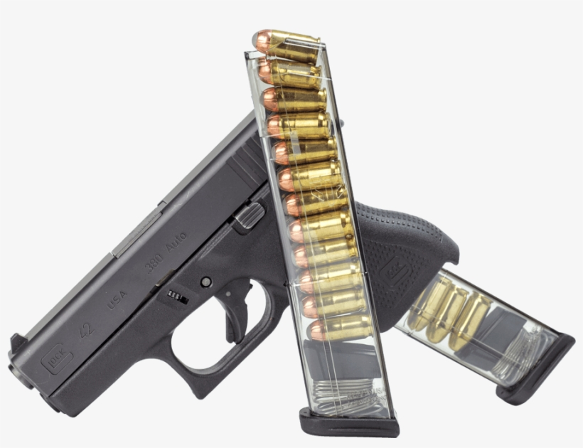 Image Library Download Ets Glock Caliber Round - Ets Glock 43 Magazine Review, transparent png #198518