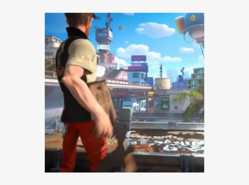 1 Sunset Overdrive - Sunset Overdrive [pre-owned] Xbox One, transparent png #199056