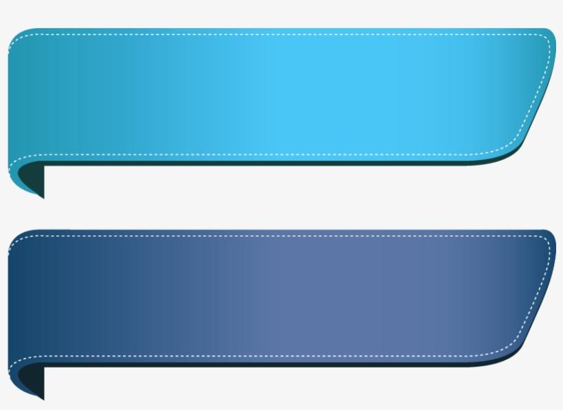 Blue Ribbon Banner Hd - Banner Ribbon Png, transparent png #199426