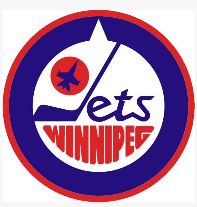 Kyle Makes A New Retro Inspired Logo For The New Jets Winnipeg Jets Free Transparent Png Download Pngkey