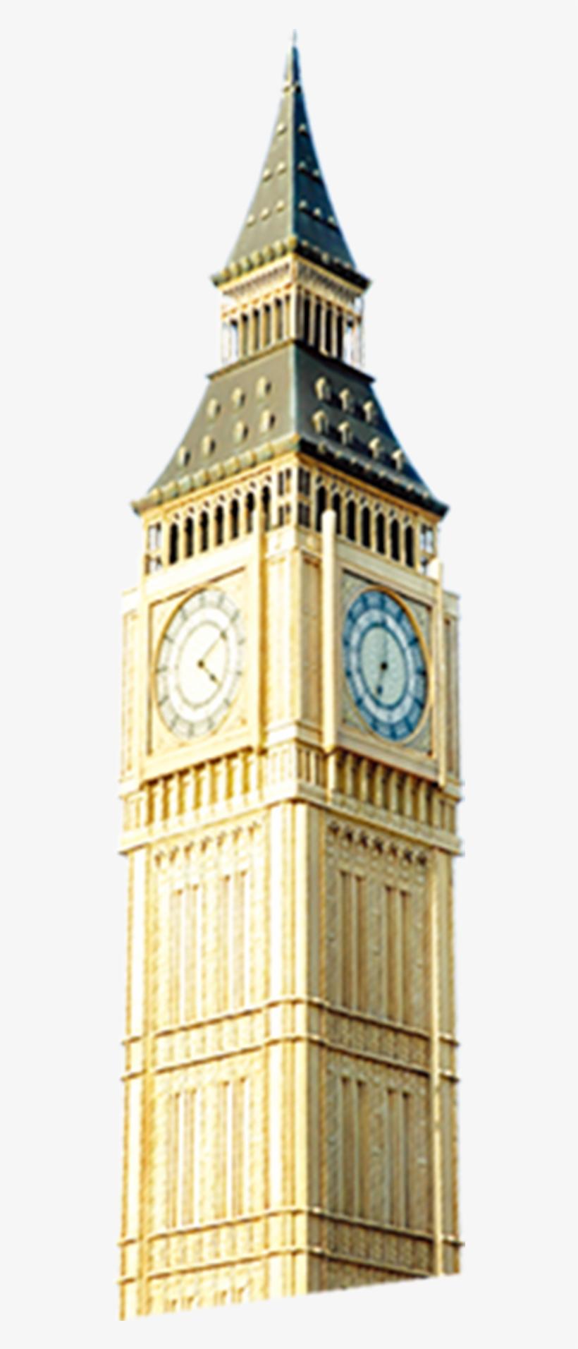 Big Ben Towering Transprent Big Ben Tower Png Free