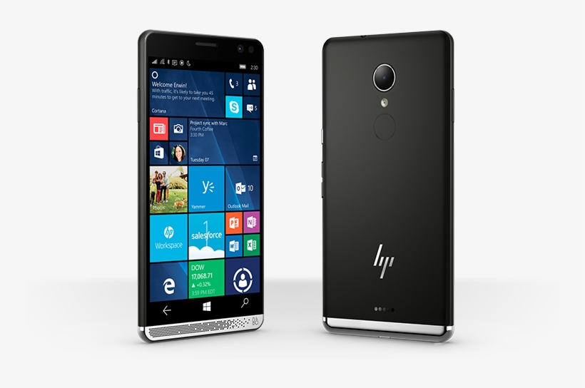 The Hp Elite X3 Is Currently The Highest-end Smartphone - New Windows Phone 2017, transparent png #1901727