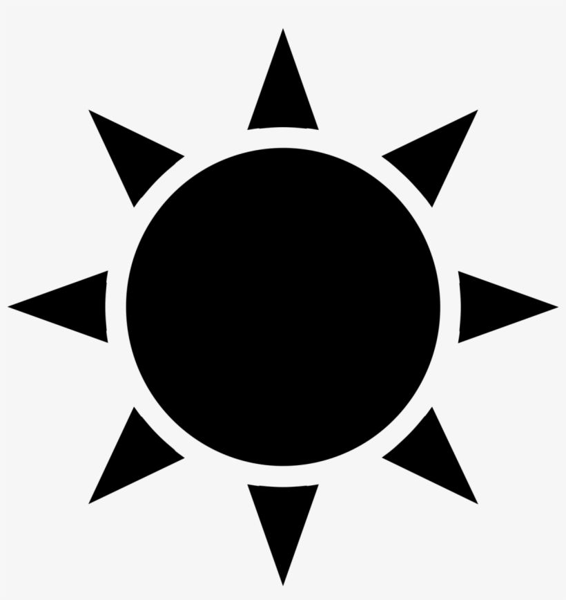 Jedi Order Symbol Png - Black Sun Icon - Free Transparent PNG