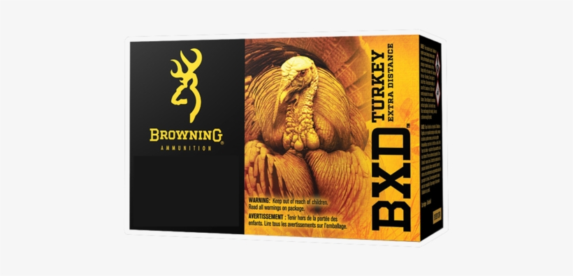Browning Ammo B193912035 Bxd Extra Distance Turkey - Browning Bxd Turkey, transparent png #1903103