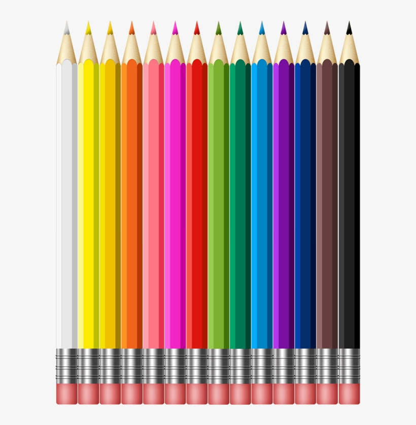 Preview Of Color Pencils Graphic - Color Pencils Png, transparent png #1904157