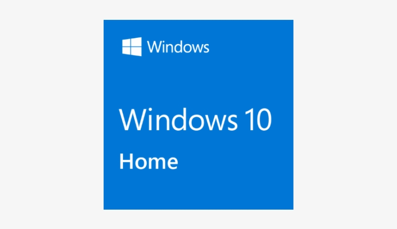During Its Development, The Windows Operating System - Windows 10 Home Logo, transparent png #1905453