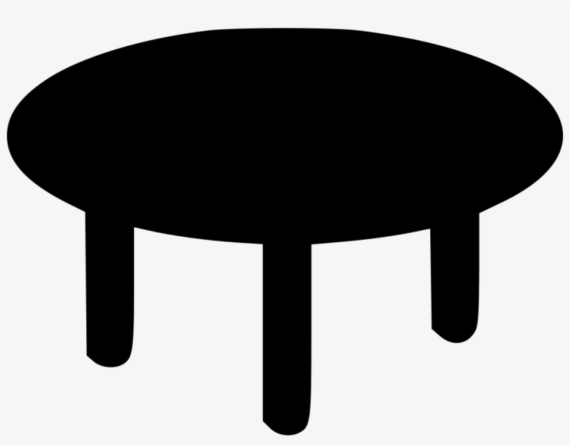Round Table Coffee Table Icon Png Free Transparent Png