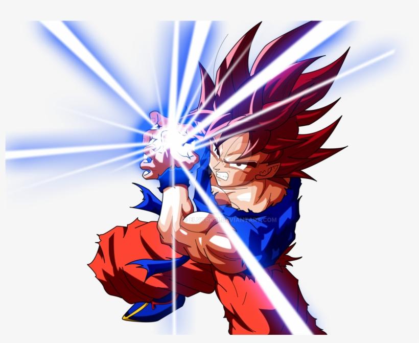 Image Result For Goku Kamehameha Render Spray Paint - Dragon Ball Z Kamehameha Png, transparent png #1908200