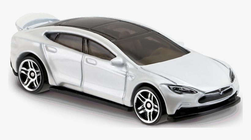 Tesla Model S Dvb56 - Hot Wheels 2017 Tesla Model S, transparent png #1909425