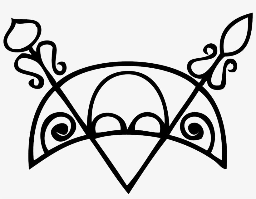Crescent V-rod - Pictish Crescent V Rod, transparent png #1909426