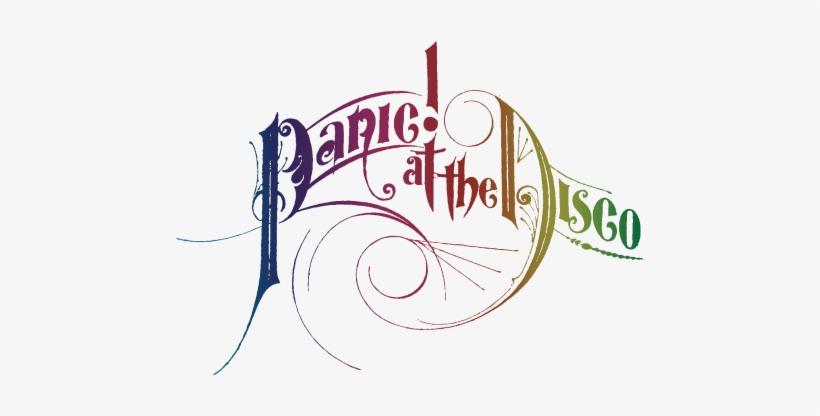 Panic At The Disco Logo - Panic At The Disco Circle Logo, transparent png #1910553