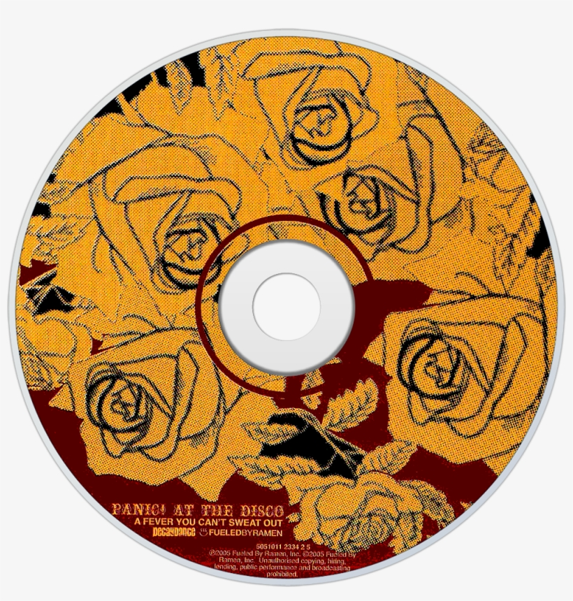 Panic At The Disco A Fever You Can't Sweat Out Cd Disc - Panic At The Disco A Fever You Can T Sweat Out Cd, transparent png #1910620