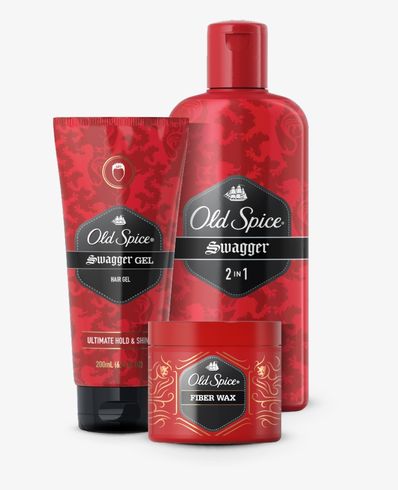 Old Spice Swagger 2-in-1 Shampoo, transparent png #1911067