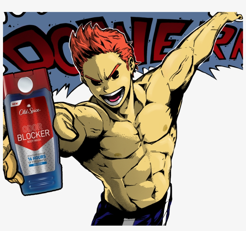 New Old Spice Odor Blocker Body Wash Devastates Odor - Mirio Togata Lucas, transparent png #1911629