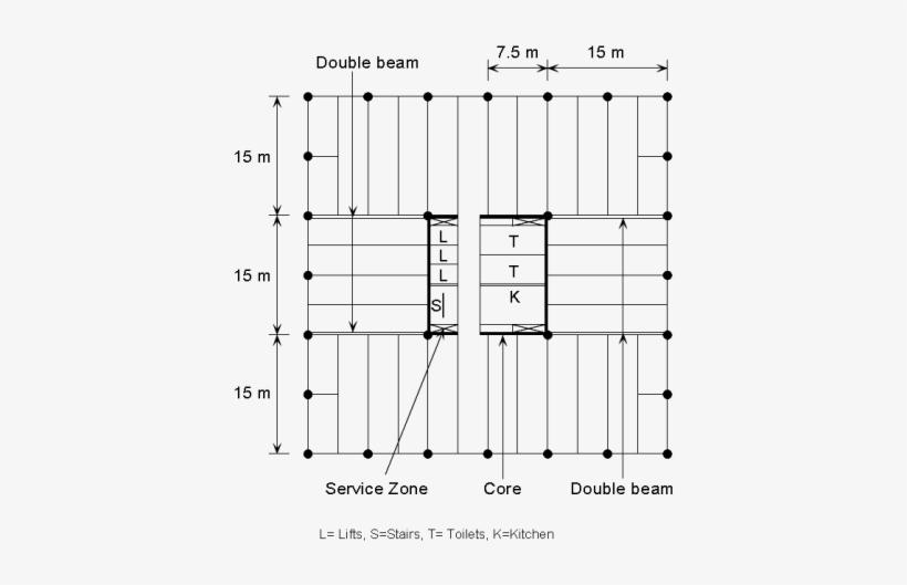 K1 Fig11 - Commercial Building Column Size, transparent png #1911709