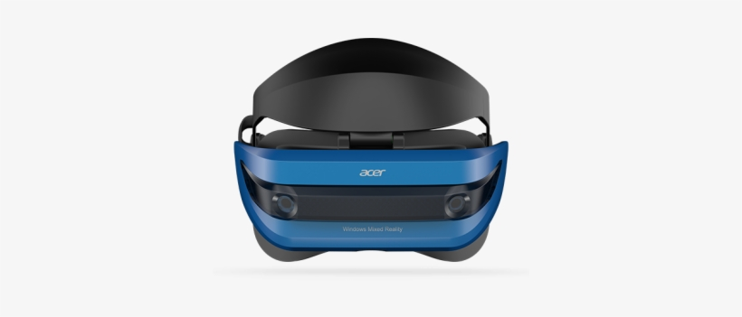 Acer Windows Mixed Reality Headset - Acer Windows Mixed Reality Vr Headset With Controllers, transparent png #1912349