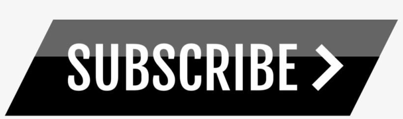 Free Sleek Black Youtube Subscribe Button By Alfredocreates - Black Youtube Subscribe Button, transparent png #1912781