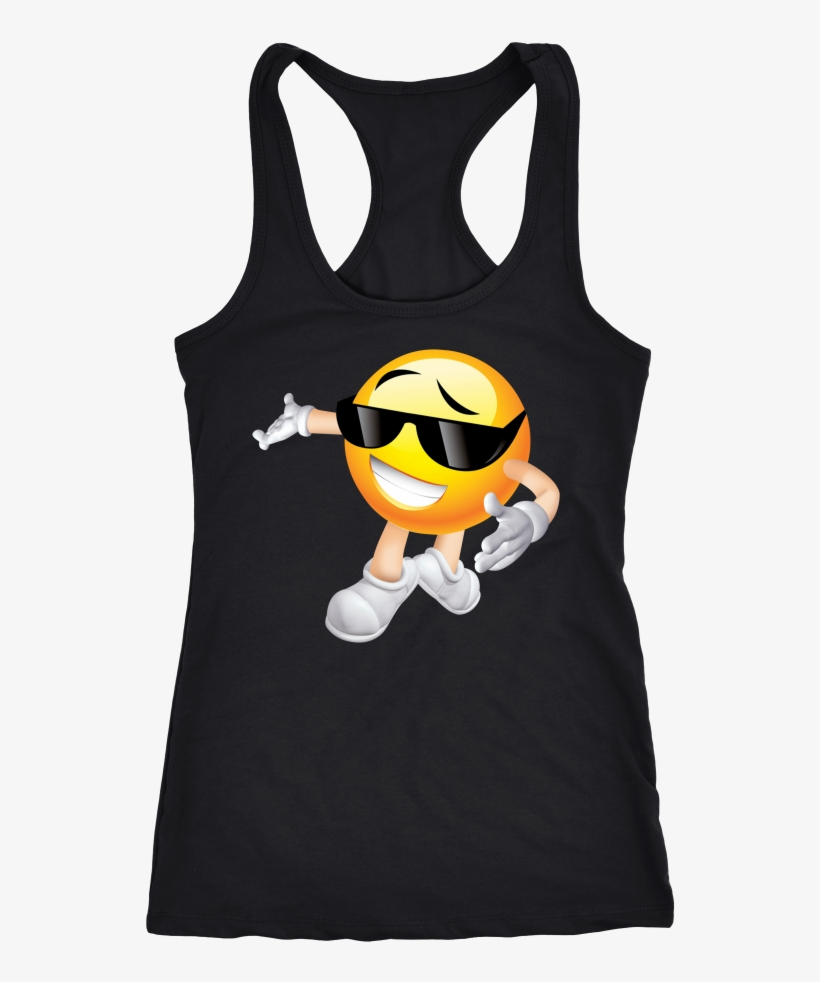 Glasses Emoji Tank Top - Never Take Advice From Me You Ll Only End Up Drunk, transparent png #1912945