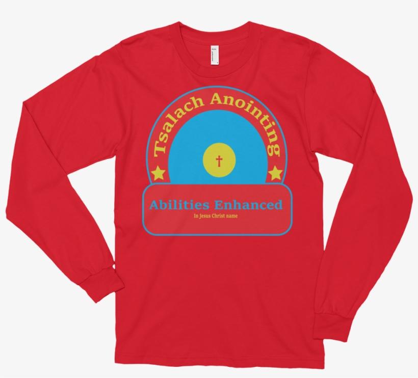 Long Sleeve T-shirt - Mockup Long Sleeve T Shirt Kid, transparent png #1912957