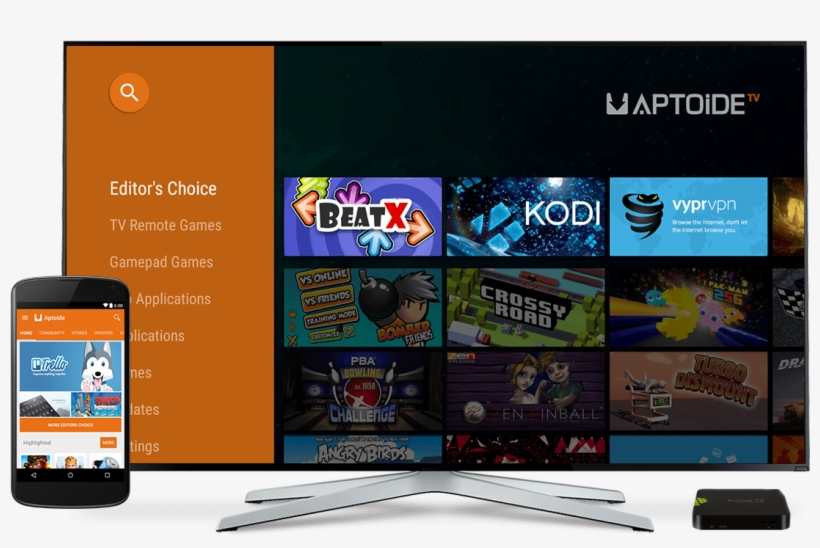 You'll Need An Android Phone Or Tablet Running Android - Aptoide Tv, transparent png #1913449