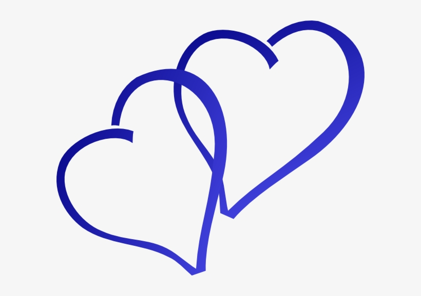Blue Hearts Clip Art At Clker Royal Blue Heart Clipart Free Transparent Png Download Pngkey