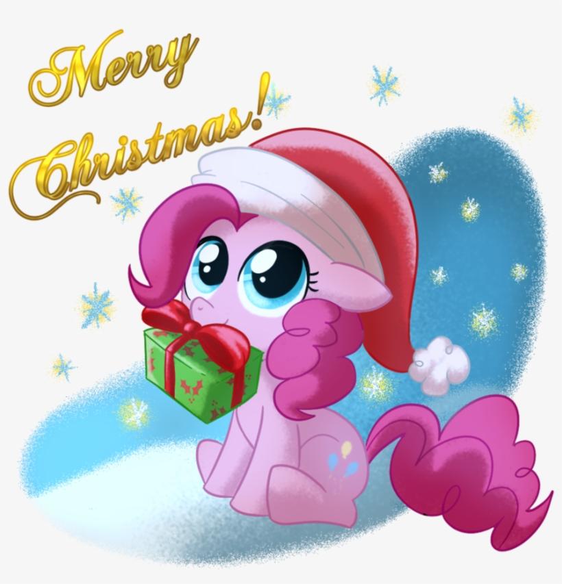 My Little Pony Clipart Christmas - Pinkie Pie Santa Mlp, transparent png #1916462